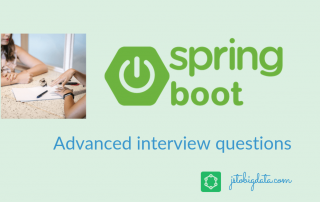 Spring boot interview