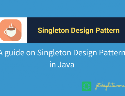 Singleton Design Pattern in Java with a real-world example